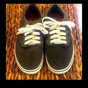 Vans Charcoal Lace-up sneakers Size 10 Uni (men 8)